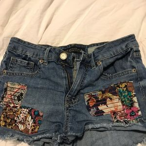 Sale today only Girls jeans shorts aero
